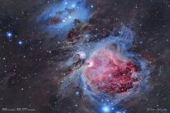 Orionnebel und Running Man