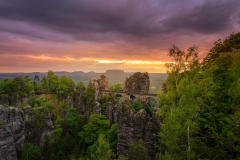 Bastei in Red_