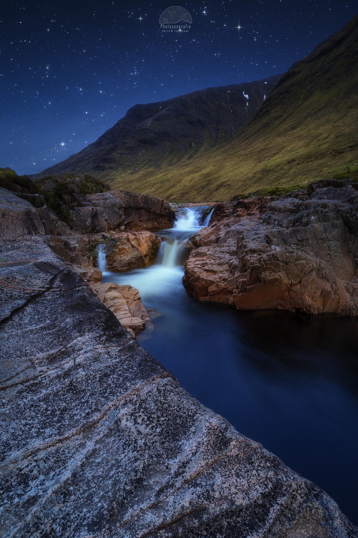 Nachts-im-Glen-Etive