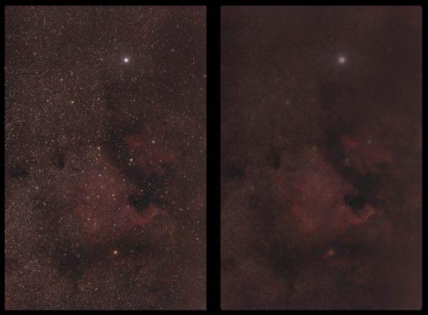 Sterne entfernen