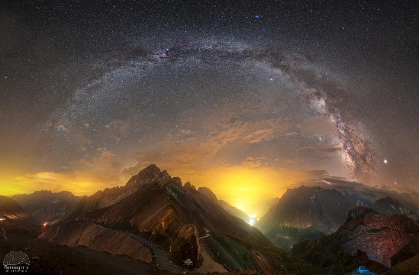 Komplette Milchstraßen Panos im Spätsommer. Geht das und wenn ja wie?