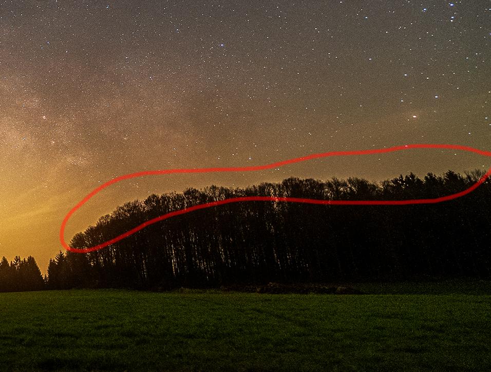 #Quicktipp: Halos in Astro-Landschaften entfernen